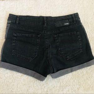 Hurley Cuffed Denim Shorts